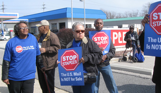 Judge to hear case against USPS deal with Staples