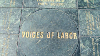 The guy who delivers your mail takes a labor history tour