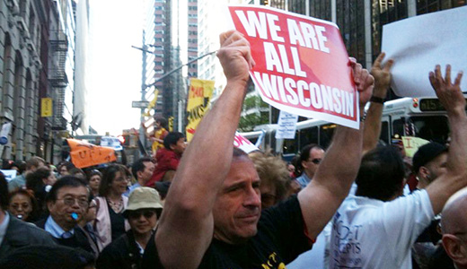 People power takes over Wall Street