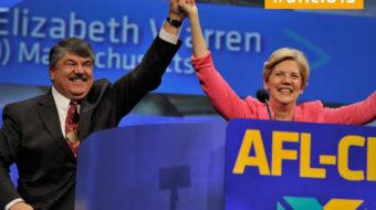 "Elizabeth Warren at AFL-CIO meet: ""If we don't fight, we don't win"""