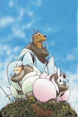 """We3"": Pro-animal comic book turns 10"