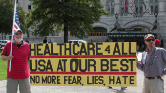 Anger boils over health industry's threat