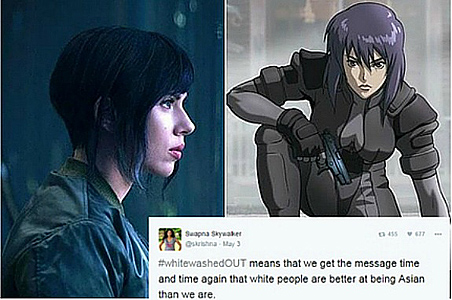 Online protest against Hollywood whitewashing of Asian roles sparks diversity discussion
