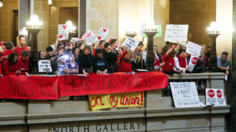 Workers turn Wisconsin battle into epic uprising