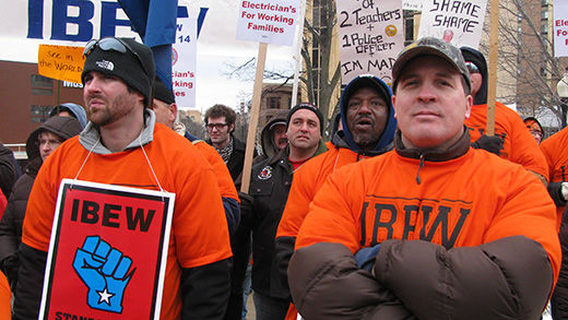 Why the Wisconsin goings-on affect all workers