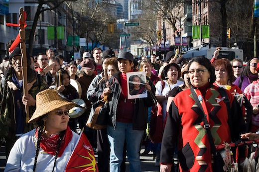 Feb. 14 marches for missing Native women unite action with compassion