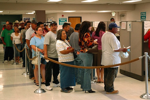 Jobless rate drops because 525,000 stop searching