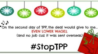 Burn the TPP, not workers