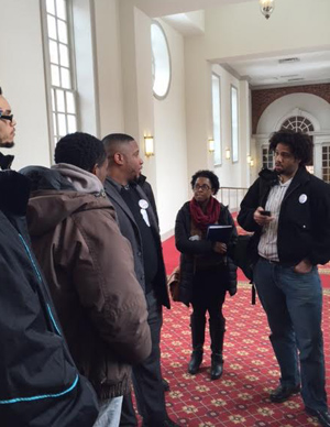 People lobby for police accountability bill filed in Maryland state legislature
