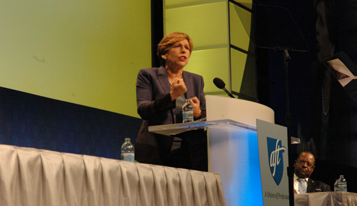 "AFT convention: Teachers ask, ""When did we become the enemy?"""