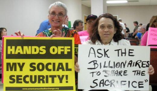 Missouri GOP rep feels heat on Social Security