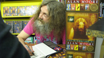 Comics legend Alan Moore slams Hollywood, defends Occupy