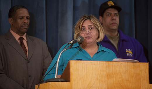 Bronx town hall promotes wage, health bill