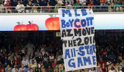 My heroes in baseball oppose Arizona's immigration law