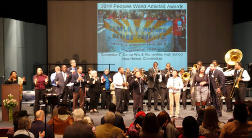 Amistad Awards show what solidarity looks like