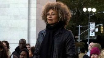 Angela Davis speaks on struggles of feminism