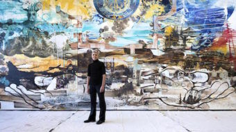 """Chicago artist creates """"Guernica""""-sized painting to mark Armenian genocide"""