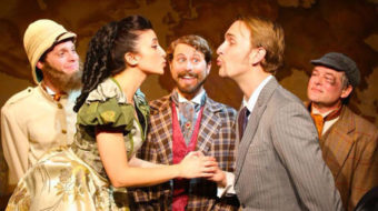 A grand romance in staged Around the World in 80 Days