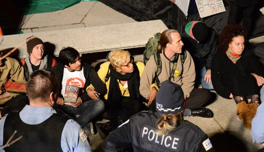 Occupy Chicago fills the jail with inspiration and solidarity