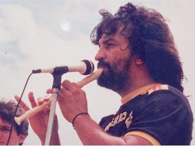 Colombian prisoner David Ravelo speaks to North Americans