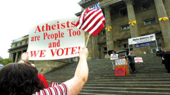 Atheists also fight for religious freedom