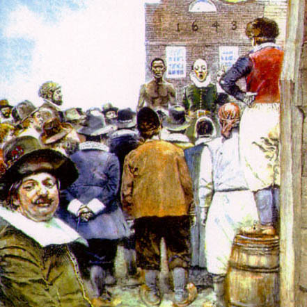 Today in labor history: first legal protest by slaves in New York