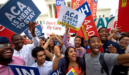Union leaders applaud Supreme Court health care law ruling