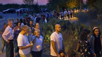 Long lines in Arizona Primary reflect intentional voter suppression