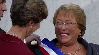 Socialist Bachelet returns to Chile presidency