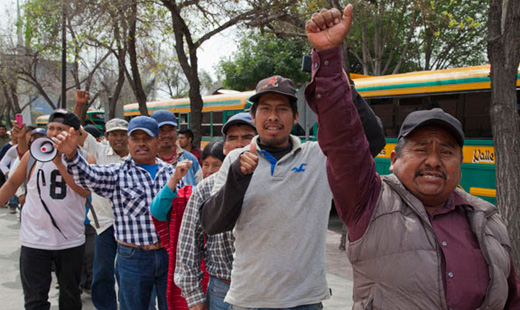 Workers of San Quintin Valley: No longer willing to be invisible