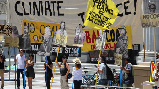 Broad coalition wins Oakland ban on coal