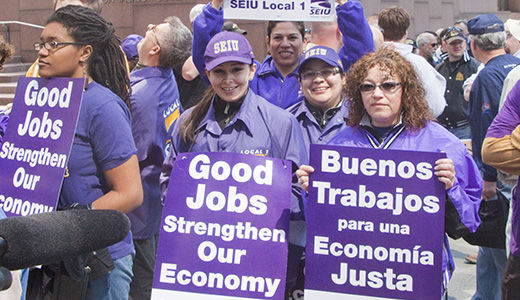 Chicago rally demands Wall Street reform, jobs now
