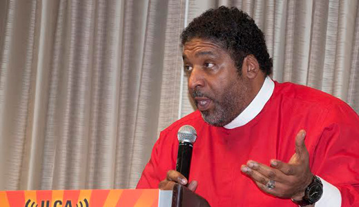 "Rev. Barber: ""Forward together, not one step back!"""