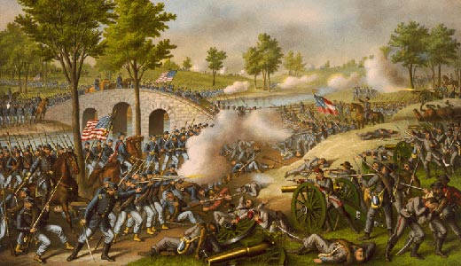 Today in Labor History: First Civil War battle in north