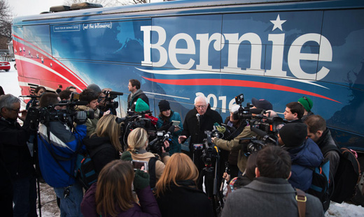 VIDEO: Among the Bernites, reporting from the trenches of the Sanders campaign