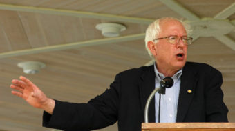 Labor leaders meet with Bernie Sanders