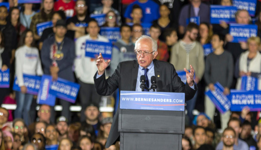 Sanders wins Wisconsin in a landslide, works to build unity