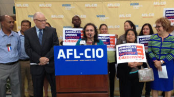 AFL-CIO warns Congress on immigration: no back burner