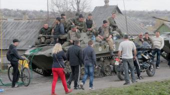 As crisis builds, Ukrainians face May 25 election