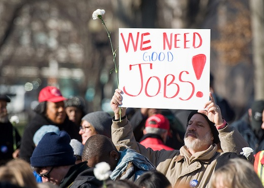 Holiday message: The unemployed need you!