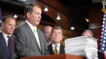 Public service union leader urges Boehner to cool violent rhetoric