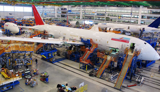 Machinists file for union recognition at Boeing plant