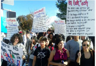Tucson bans Mexican-American studies, students walk out