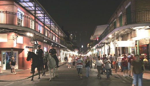 French Quarter curfew targets Black youth, critics charge