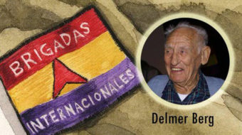 Celebrating Spanish Civil War veteran and lifelong activist Delmer Berg