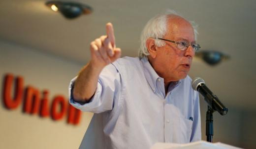 Bernie Sanders makes it official: he's running for president