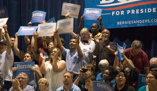 Bernie Sanders draws 11,000 in red state Arizona