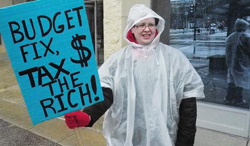 Majority backs higher taxes on the rich