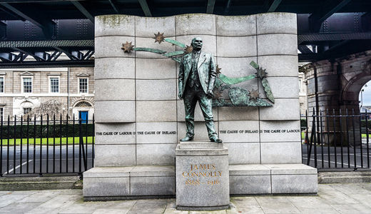 "Today in labor history: Irish launch ""Easter Rising"""