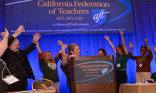 California teachers fight to save their union and the schools